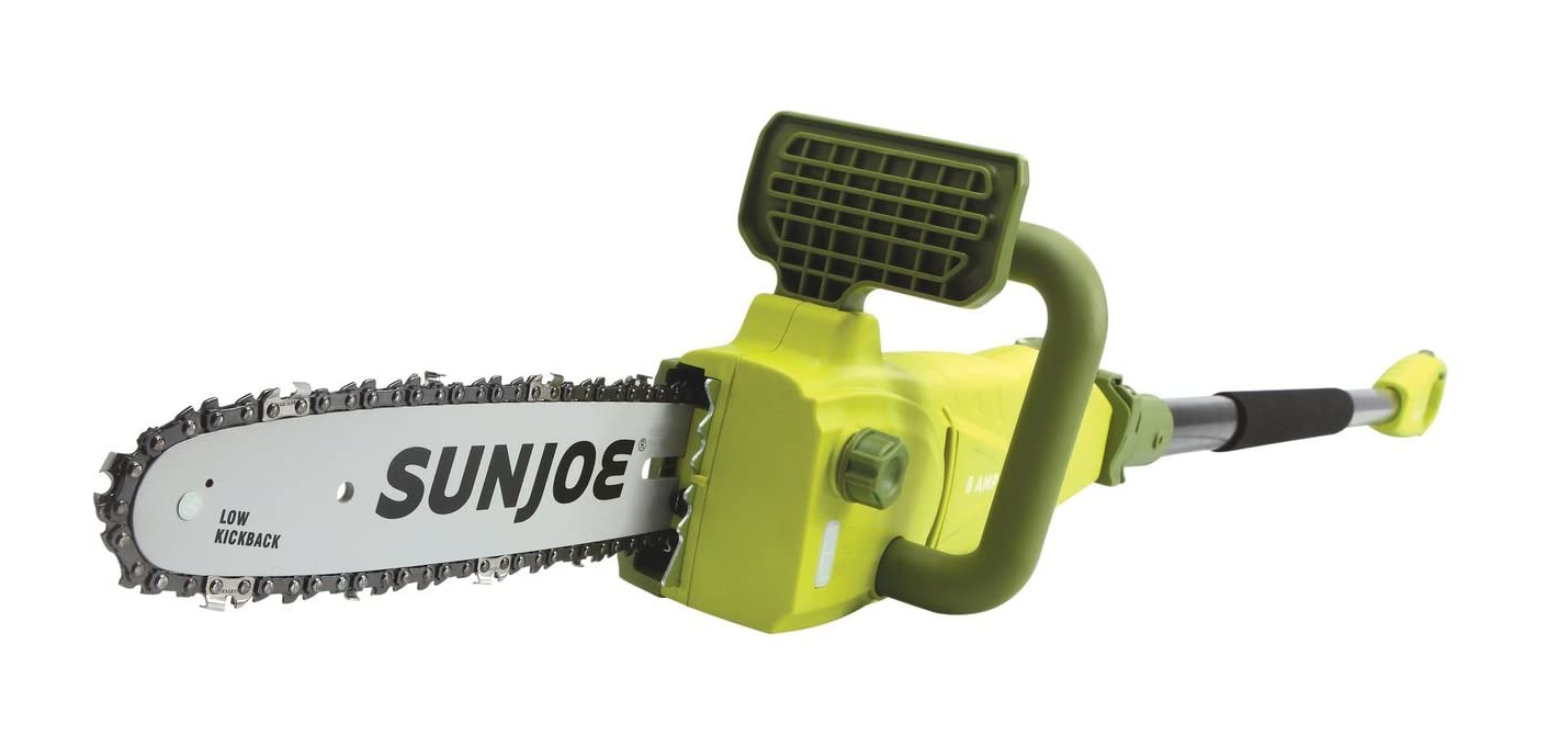 Sun Joe SWJ807E 10 inch 8.0 Amp Electric Convertible Pole Ch