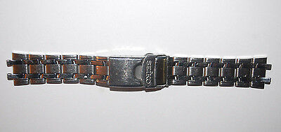 VINTAGE SEIKO STAINLESS STEEL MANS WATCH BAND STRAP 19.74X20.71MM -