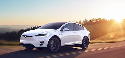 Tesla X 2016 Front End Bonnet Bumper Headlights Wings  and Airbag Kit We Want