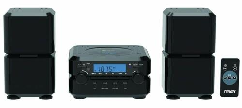 Naxa NS-441 Bluetooth CD Player Shelf Stereo System