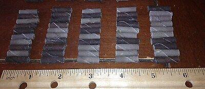 Abrasive Cartridge Rolls 50pcs. 34l X14diam. X 116 Hole Fine Grit Nos.