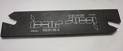 Iscar Sgih 26 - 5 Self Grip Tool Holder Carbide Inserts Turning Grooving New