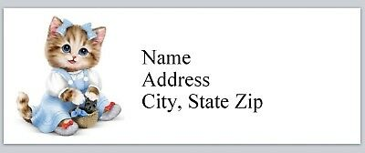 Personalized Address Labels Cute Little Kitty Cat Buy 3 Get 1 Free P 623