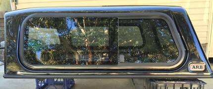 NEAR NEW NISSAN D22 NAVARA DUAL CAB ARB SMOOTH FINISH CANOPY Yagoona Bankstown Area Preview