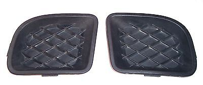 06-10 CHRYSLER PT CRUISER FOG LIGHT COVER TRIM BEZEL INSERT PAIR SET OF 2 - OEM