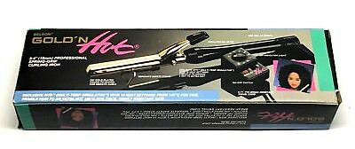 """BELSON GOLD 'N HOT 3/4"""" PROFESSIONAL SPRING-GRIP CURLING IRO"""