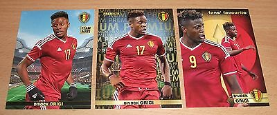 PANINI CARREFOUR LOT 35 56 144/180 - BELGIAN RED DEVILS TOUS ENSEMBLE - ORIGI