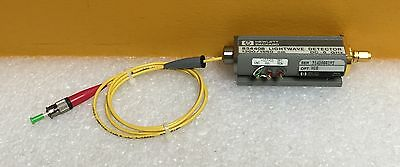 Hp Agilent 83440b-h10 Dc To 6 Ghz13001550 Nm Lightwave Detector. Tested