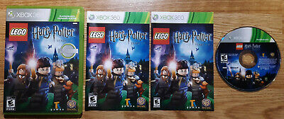 Lego Harry Potter Years 1-4 - Xbox 360 - Complete - Tested