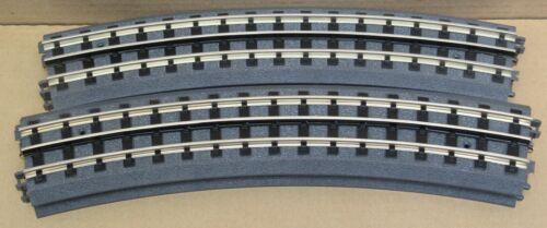 MTH Realtrax 40-1010 O-72 Curve Track (Hallow Rail) 4-PACK O-Gauge LN