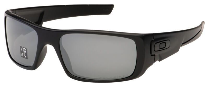 Oakley Crankshaft Sunglasses OO9239-06 Matte Black | Black Iridium Polarized