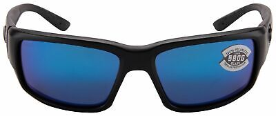 Costa Del Mar TF01OBMGLP, Polarized Fantail Blackout Blue Mirror 580G (Costa Del Mar Fantail Sunglasses)
