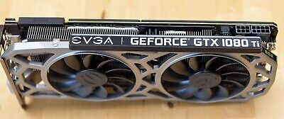 EVGA GeForce GTX 1080 Ti SC-2 11GB GDDR5X Graphics Card (11G-P4-6393-KR)