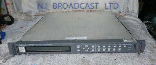1x tektronix tg700 master SPG with HDSDI high definition option and SDI test si