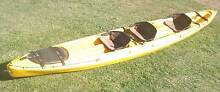 Ocean Kayak Cabo double + toddler sit-on-top kayak ex hire Tea Gardens Great Lakes Area Preview