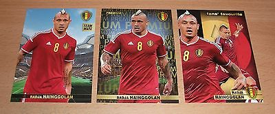 PANINI CARREFOUR LOT 24 47 134/180 - BELGIAN RED DEVILS TOUS ENSEMBLE NAINGGOLAN