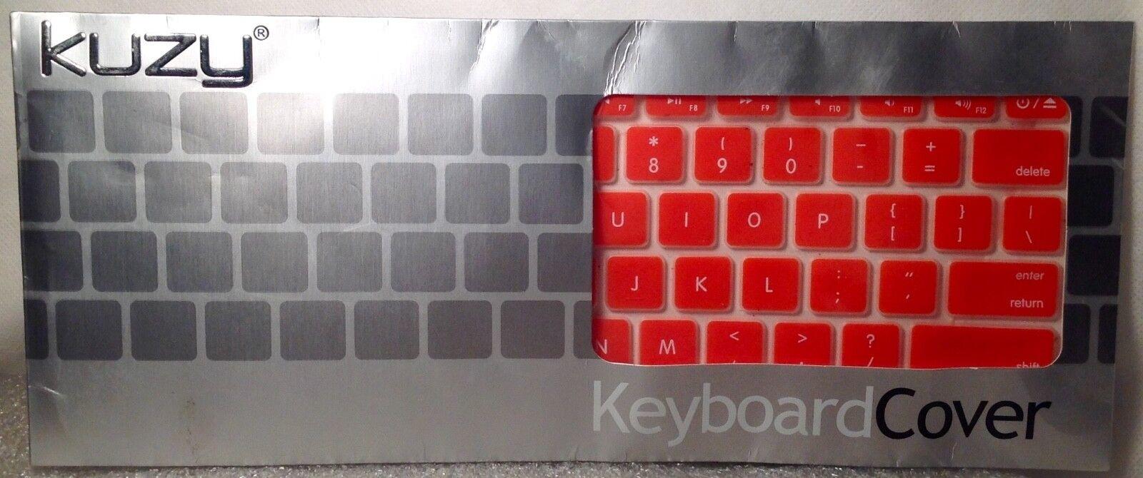 KUZY Keyboard Cover ORANGE Silcone for MacBook NEW