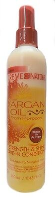 Creme of Nature Argan Oil Strength & Shine Leave in Conditioner 250ml