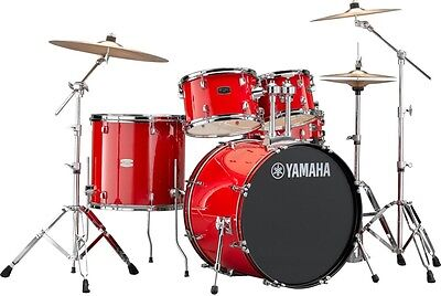 Yamaha Rydeen 5-Piece Shell Pack with 22 in. Bass Drum Hot Red