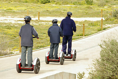 Zip around without the exhaustion with a segway