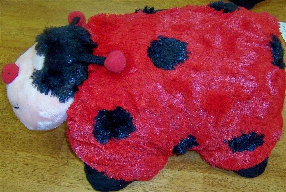 Pillow Red Ladybug My Pillow Pet Plush New