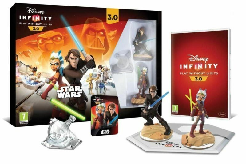 XBOX+360+%2A+DISNEY+INFINITY+3.0+STAR+WARS+STARTER+PACK+%2A+NEW
