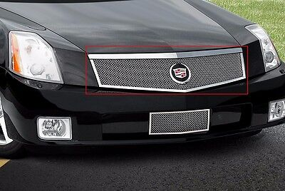 2004-2008 Cadillac XLR Classic Fine Mesh 1pc Grille Upper - E&G 1335-010U-04