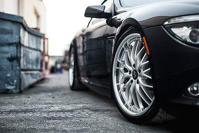"""18"""" MRR GT1 Wheels For BMW E36 M3 E46 323 325 328 330 Z4 Silver Rims Set (4) for sale  Los Angeles"""