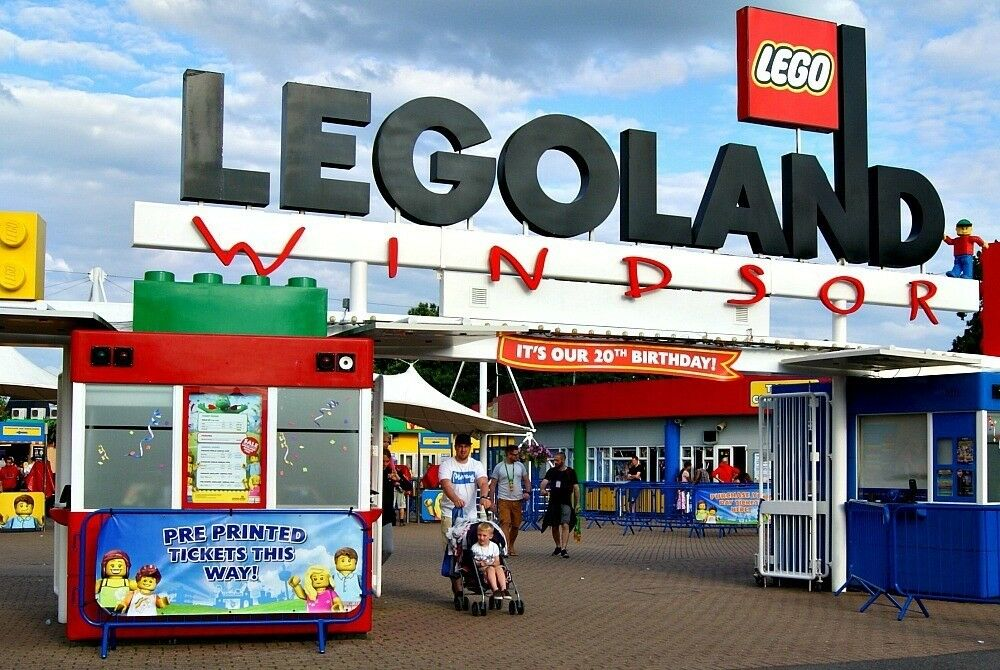 2x Legoland Windsor Tickets For Sunday 24th June In