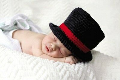 Mud Pie My First Christmas Newborn Photography Prop Knit Top Hat](Top Hat Prop)