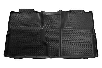 2007-2013 GMC Sierra Husky Classic Style 2nd Row Black Floor Liner Free Shipping (Husky 61521)