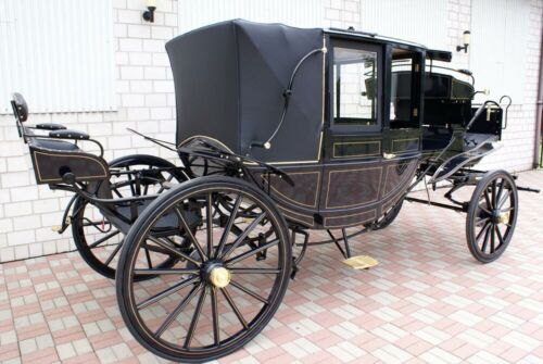 NEW CARRIAGE / HORSE CARRIAGE / CARRIAGES Glasslandauer / Cinderella ! Horse New