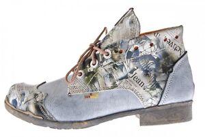 Mujer-Piel-Botines-Comfort-Botas-Tobillo-Zapatos-TMA-5166-Zapatos