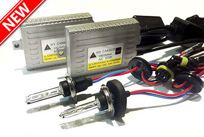 55W W9 Smart Canbus Xenon HID Conversion Kit   All Bulb Types Available