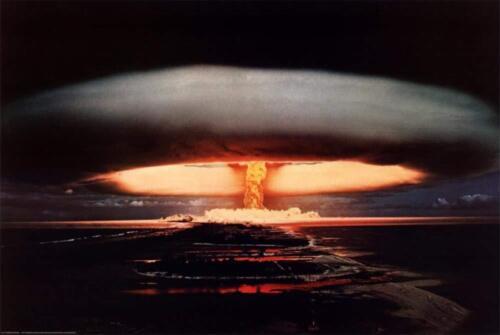 HYDROGEN BOMB POSTER 24x36 - 2412