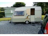 Swap my two berth caravan for a small automatic car must be nice and clean