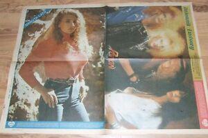 POISON - DANUTA LATO mag.FRONT cover POSTER 40/1989 Poland - europe, Polska - Zwroty są przyjmowane - europe, Polska