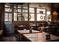 Wait Staff Wanted- The beautiful Princess of Shoreditch Gastro Pub - £8.50-£10.50
