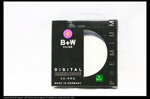 B+W 77mm XS-PRO MRC UV Protection NANO FILTER Made in Germany!