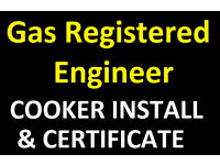 Gas Safe Registered engineer - Birmingham Solihull cooker landlord certificate corgi hob electric