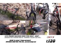 1979 Raleigh frame bike for SALE ASAP