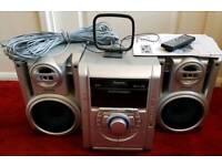 Panasonic Multi-CD HiFi System