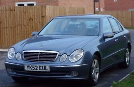 Mercedes E270CDI: very low 70k mileage car, excellent condition