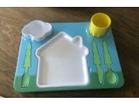 Children's Landscape Dinner set