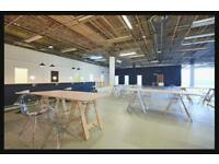 Desk space to rent in private shared office located in new vibrant coworking hub - 24/7 access
