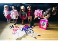Generation dolls and horse bundle