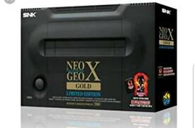 Neo geo gold x boxed like new