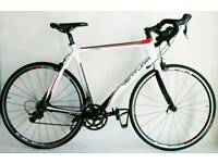 Immaculate Full Carbon Fibre 58cm Ventura Shimano Sora 18 Speed Large Mens Used