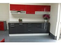 High Gloss Kitchen from 7 units only £598