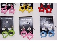 Wholesale Clearance 50 Fashion Mixed Jewellery including Chains, Earrings and Rings for Girls